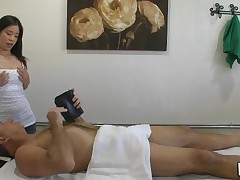 Massage can truly include sex and our stud discovers that